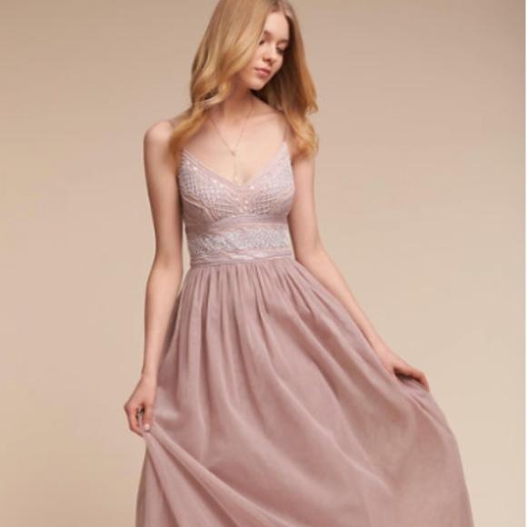 2e8e3ff45ed BHLDN Dresses   Skirts - BHLDN Prom dress Adrianna Papell Aida rose color